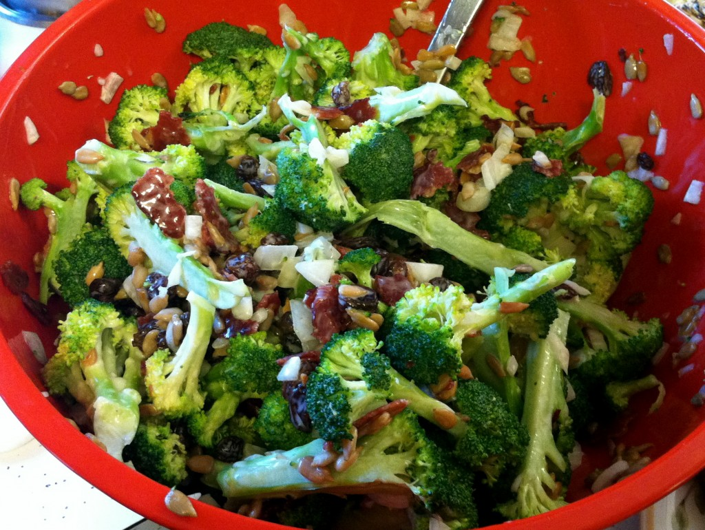 the best broccoli salad i have ever eaten hence the name best ...