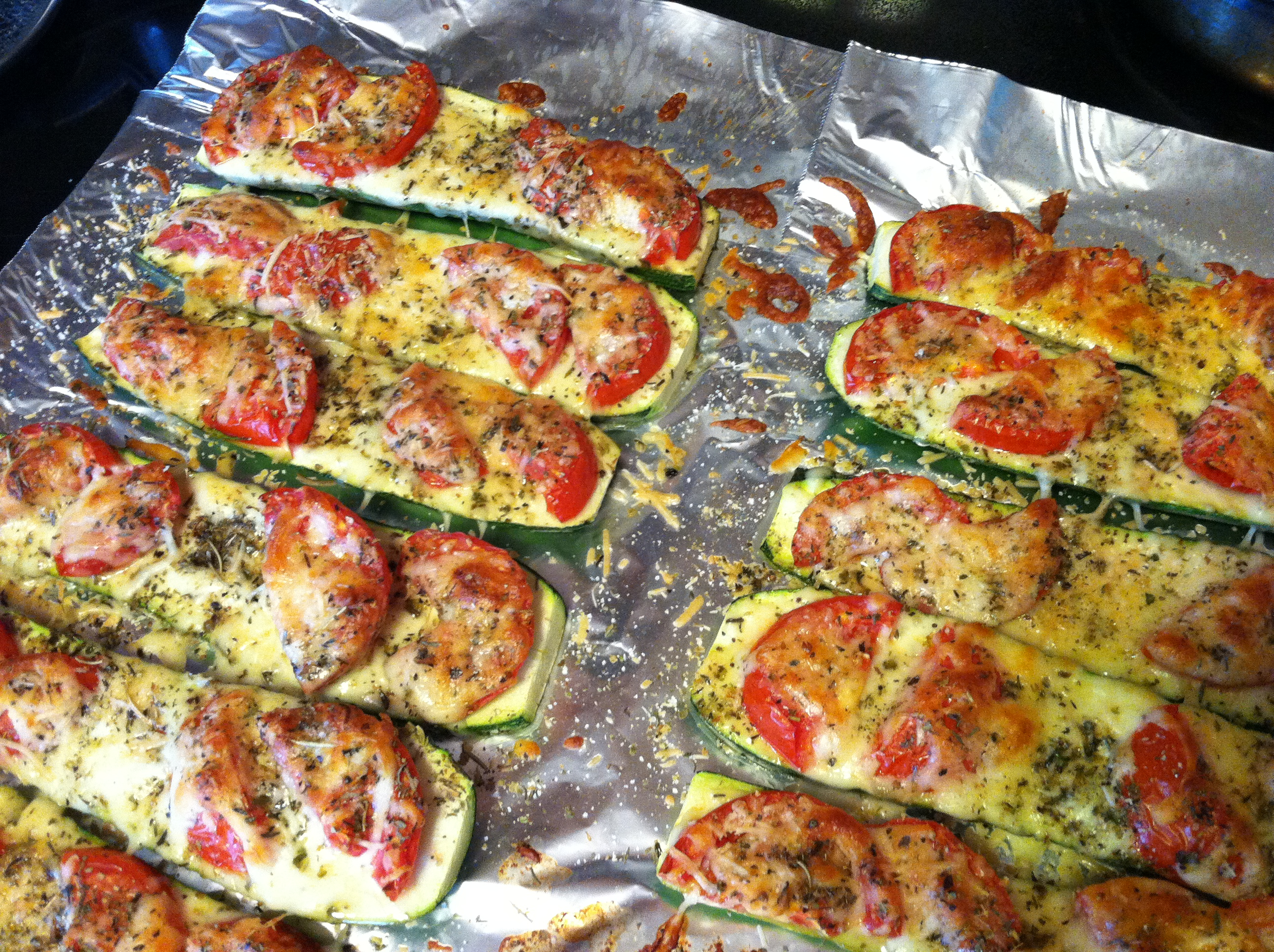 Easy baked italian zucchini sprinkled with light blessings forumfinder Choice Image