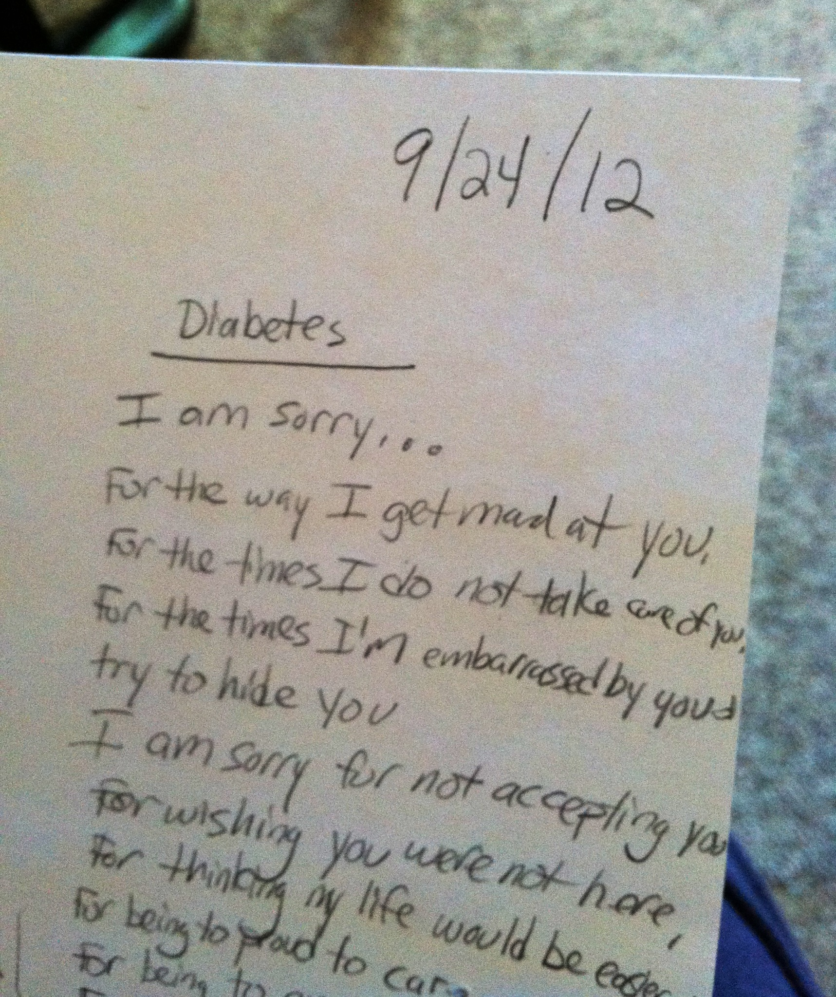 diabetes i am sorry a poem inspired by diabetes art day diabetes