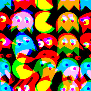 765 - Tripping Pac Man - Pattern