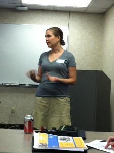 Speaking at a JDRF AWTO (Adults with Type 1) group